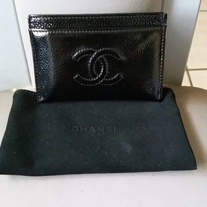 Authentic Chanel Card Wallet Beautiful